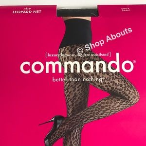 $36 S-L COMMANDO Better Than Nothing Tights