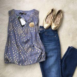 Moschino Tops - NWT Love Moschino silk blouse FINAL💲