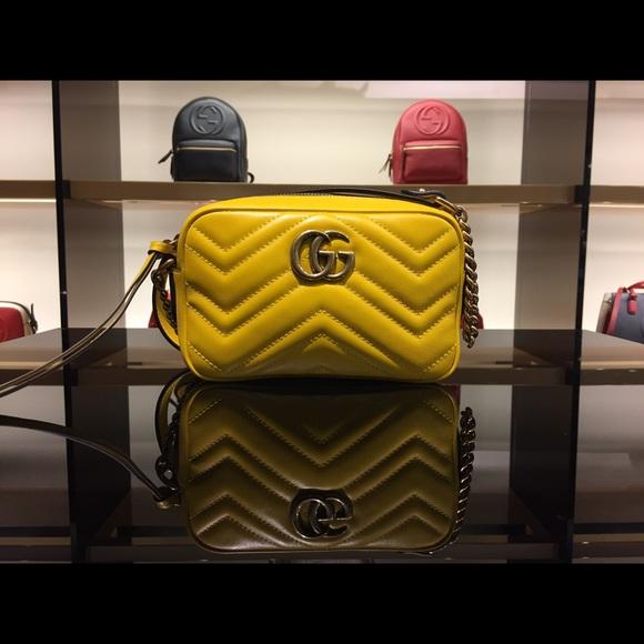 fd4adc4b3fa4 Gucci Bags   Salegg Marmont Mini Matelass Leather Crossbody   Poshmark