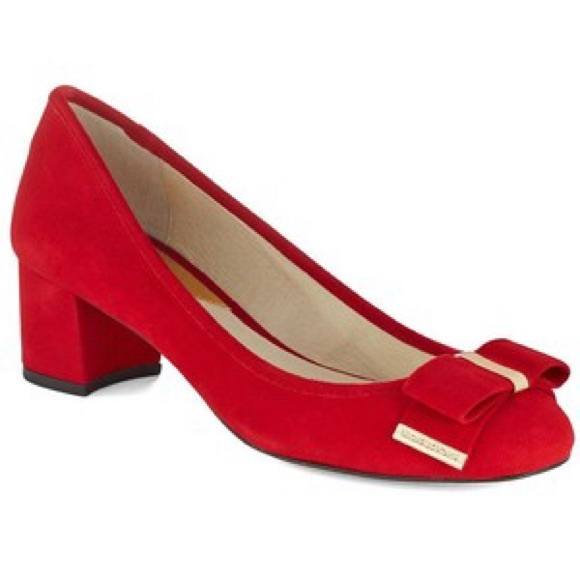 75% off MICHAEL Michael Kors Shoes - Michael Kors red suede shoes ...