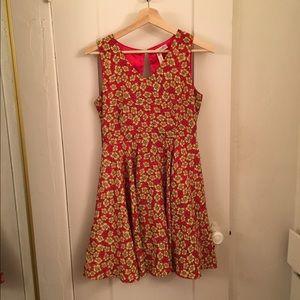 ModCloth Dresses & Skirts - Modcloth Alice Moon Flowered Dress Size Small