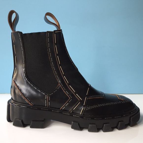 Balenciaga Leather Chelsea Boots JMDqC