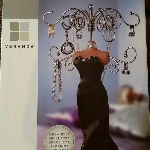 Veranda Vanity Jewelry Doll jewelry organizer from Samanthas