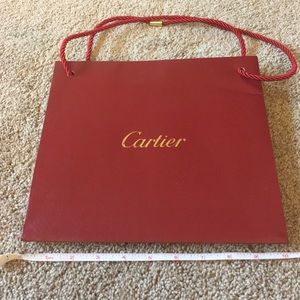 Cartier Other - Cartier paperbag
