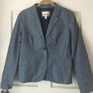 J. Crew Denim School Boy Blazer
