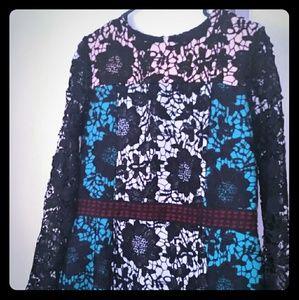 NWT 70% off boutique black lace dress