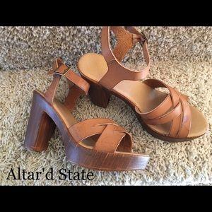 Altar'd State Shoes - Platform sandals