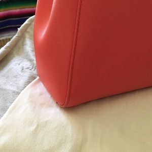 Fendi Bags - Fendi Mini Peekaboo in a coral orange shade 5ed2e1fc4ee37