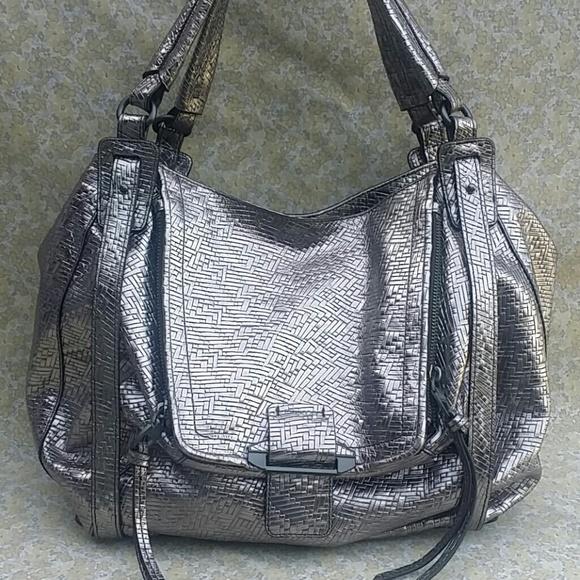 da9466e09 Kooba Bags | Jonnie Metallic Silver Leather Hobo Handbag | Poshmark
