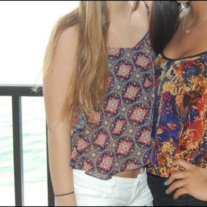 Tilly's Tops - Tilly patterned tank top