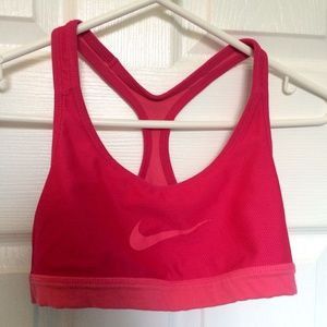 Reversible Pink Girls Nike Sports Bra