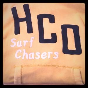 Hollister Other - Hollister yellow hoodie pullover
