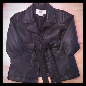 Other - Toddler black leather jacket girl or boy