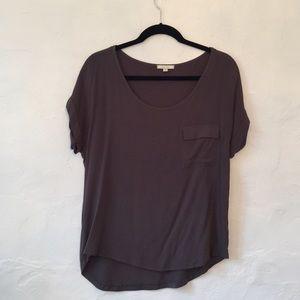 Pleione mix media blouse