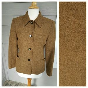 Vintage Belted Blazer