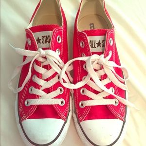 Converse Shoes - RED CONVERSE!