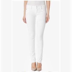 83% off Hudson Jeans Denim - White Hudson Skinny Jeans from ...