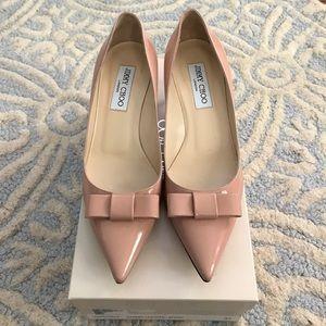 Jimmy Choo Shoes - 🆕LISTING! 🆕Jimmy Choo kitten patent bow heel
