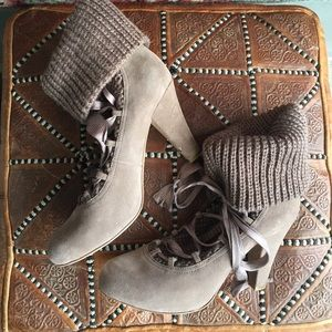 See by Chloe Shoes - See by Chloe Knit Lace Boots