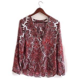 Zara Tops - Zara Basic red top