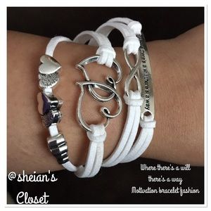 Motivation bracelet fashion