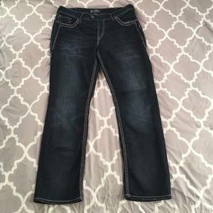 SILVER Jeans sz 16/L30