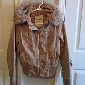 Aeropostale jacket with hood size S