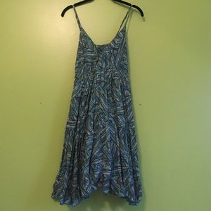 aryeh Dresses & Skirts - Blue & green sun dress