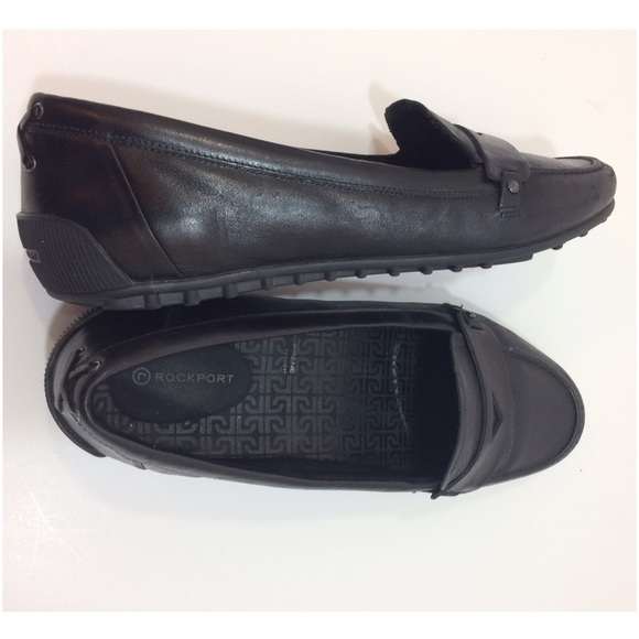 9db0da03f77 Black leather penny loafer - Rockport. M 586d6cb02ba50a9ccf001d85
