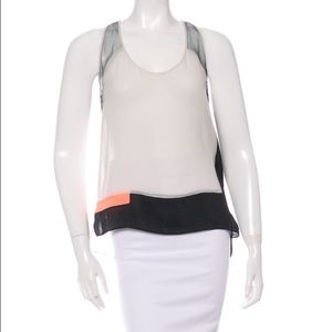 Helmut Lang Tops - Helmet Lang Chroma Color Block Sleeveless Tank Top