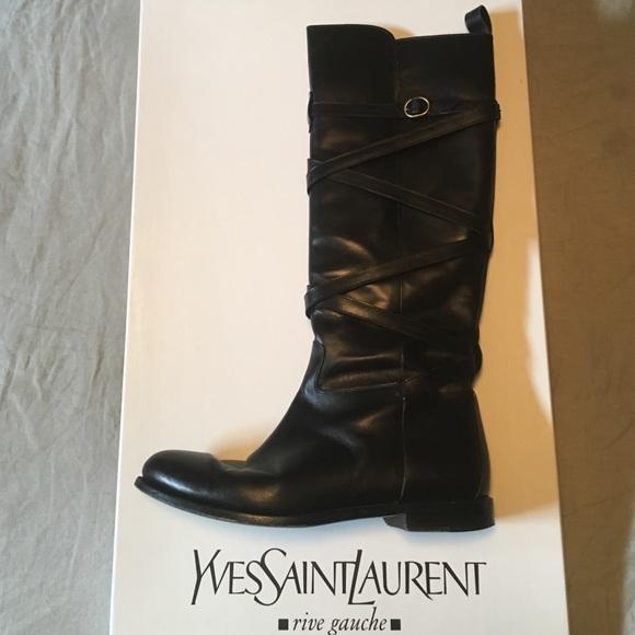 1072c1caf79 Yves Saint Laurent riding boots. M_586d6f9bc6c79530f60025bb