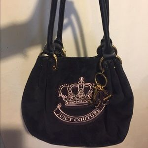 Juicy Couture Handbags - Authentic Juicy Couture black hand bag
