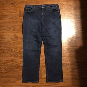 Bandolino Jeans - Slim Straight Cut - 16