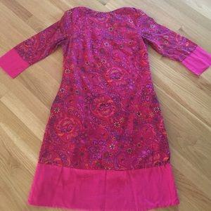 Isaac Mizrahi for Target Paisley Lined Dress