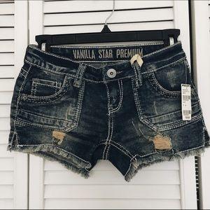 Tilly's Pants - distressed denim shorts