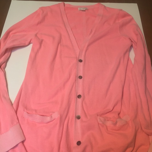 83% off GAP Sweaters - Coral GAP cardigan sweater size medium from ...
