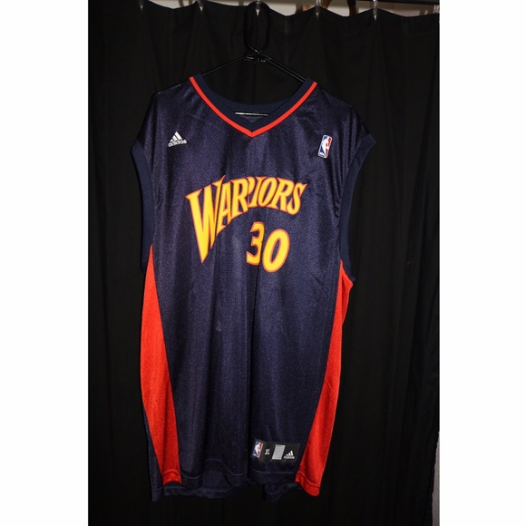 on sale a1b29 d4262 Stephen Curry Adidas Warrior Jersey