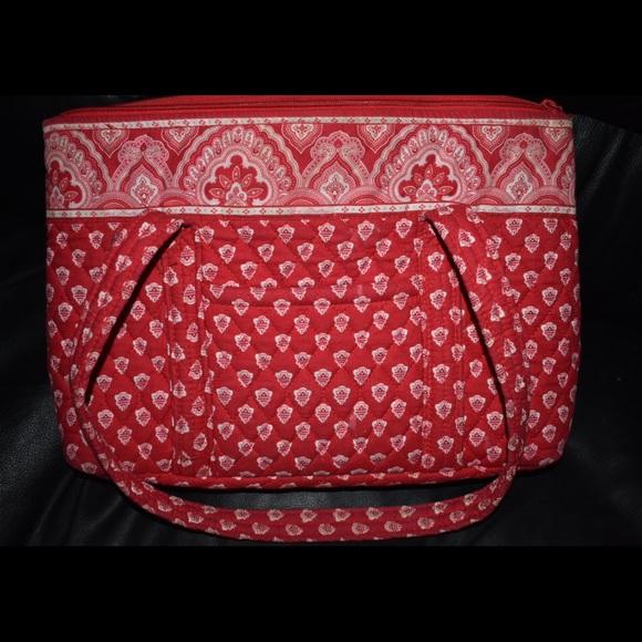 a773f268941c Retired Rare Nantucket Red Vera Bradley Bag. M 586d7ab14127d0e4ae004a6e