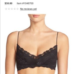 Honeydew Intimates Other - Black lace bralette