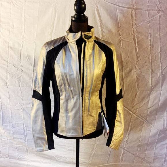 casual shoes fair price Official Website Alpinestars Vika Leather Motorcycle jacket gold NWT