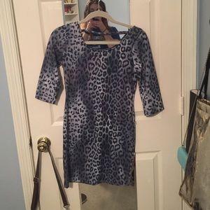 Sexy Cheetah bodycon dress