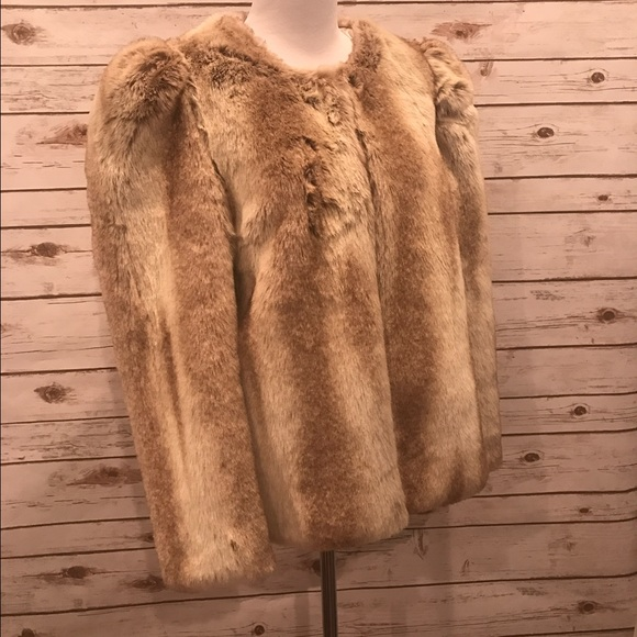 f16c0db903 Urban Outfitters Faux Fur Coat by Pins and Needles.  M 587a6e8e2ba50a648900fcdd