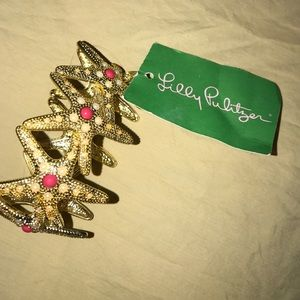 Lilly Pulitzer starfish bracelet one size