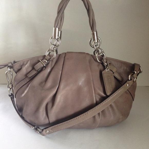 69aa842b7c Coach Handbags - Coach Madison Pleated Leather Sophia Satchel