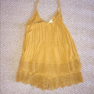 H&M Yellow Romper