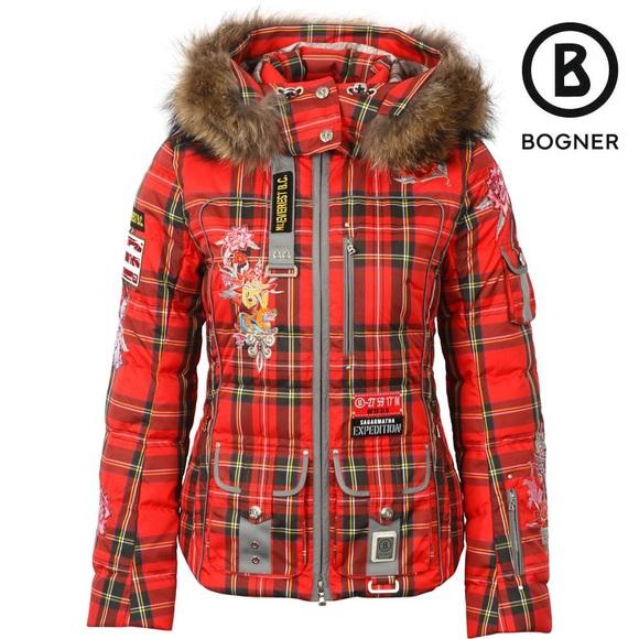 Gutscheincode Schnäppchen für Mode Wie findet man IN SEARCH OF: Bogner Plaid ski jacket!