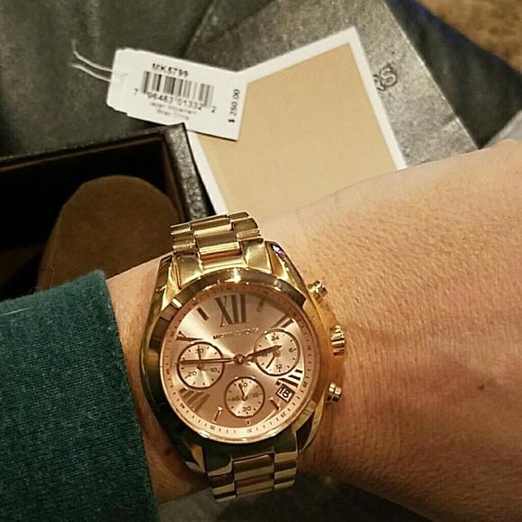 436e8cc117c1 Michael Kors Watch mini - Bradshaw- rose gold. M 586d837a2599fefced006821