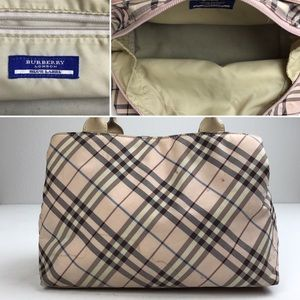 02bc3414f3a1 Burberry Bags - Burberry blue label pink check fabric bag