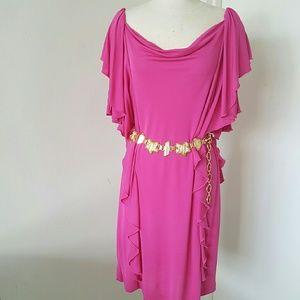 Diane von Furstenberg Dresses & Skirts - Diane von Furstenberg Pink Party Dress