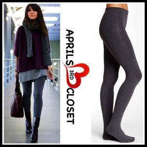 Ellen Tracy Accessories - ❗1-HOUR SALE❗ELLEN TRACY FLEECE LINED TIGHTS GREY